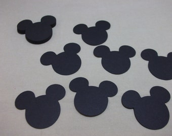 Mickey Mouse Head-Embellishment/Die Cuts