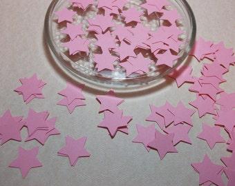 Pink Stars Die Cuts/Embellishments