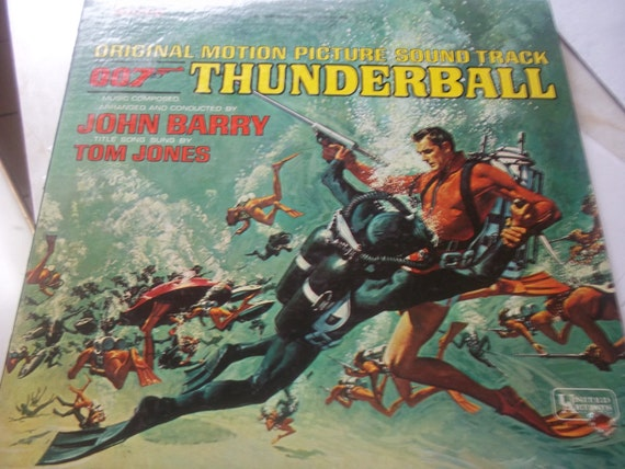 "007 James Bond ""Thunderball"" Soundtrack Album"