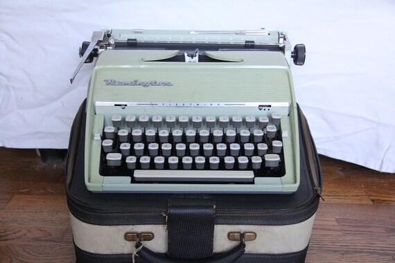 reserved for AUDREY Vintage Remington Fleetwing Typewriter