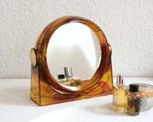 Vintage Vanity Mirror so 70s from Germany