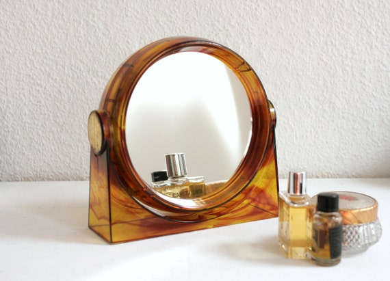 Vintage Vanity Mirror so 70s from Germany
