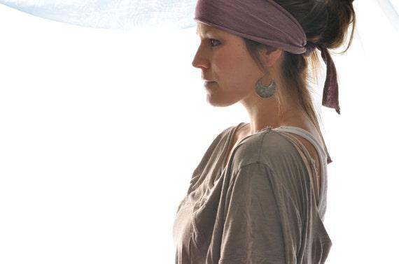 Hemp Wrap - Plum - hemp headband
