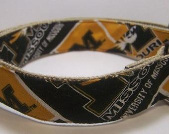 Handmade Hemp 3/4 inch wide (small)  Dog Collar -Mizzou-