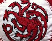Pillow Case - House Targaryen Sigil - Game of Thrones