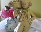 Alexander Backar 1940's - Figurine - Vintage Collectibles  - Chalkware