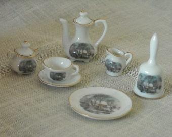 Small Treasures Avon miniature teaset