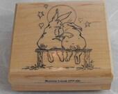Bunny Love-Stempel