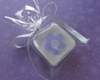 12 Lavender Soap Favors