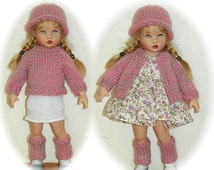 Sweater, Hat, Leg Warmers Knit  PATTERN for 7 inch  Kish Riley Avery Tula Sent PDF Format