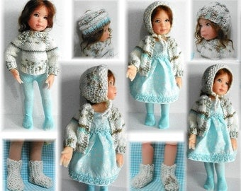 "Sweater Pattern and More for 10 "" McKenzie Willows Way Oldenburg Dandelion Doll by Kdys in PDF form"
