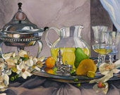 Still Life with Silver and Glass