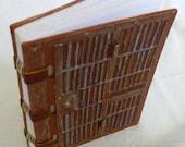 Handmade Cell Door Journal (Prison Art)
