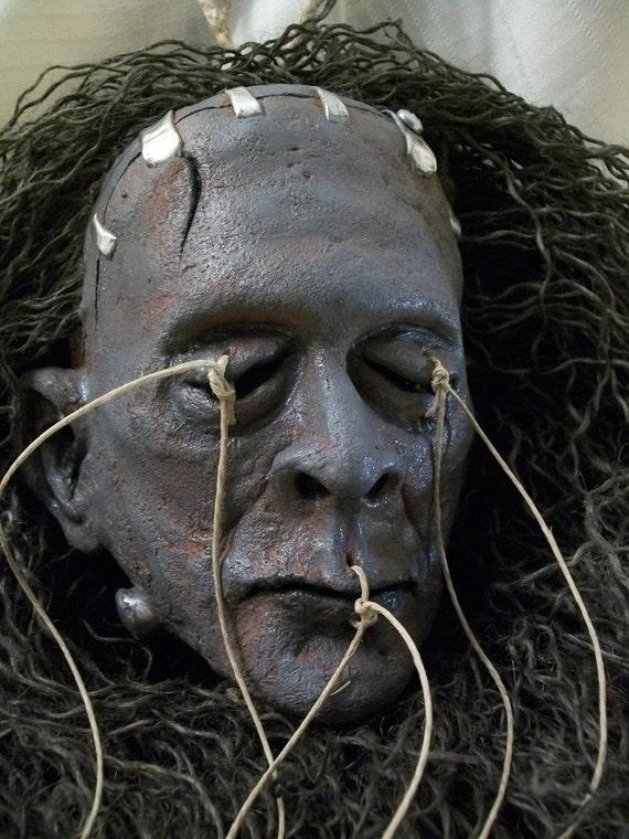 Shrunken Head of Frankenstein's Monster / Movie Monster classic