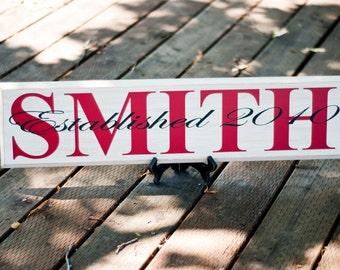 Handmade Custom Name Signs - Great Wedding or Baby Shower Gift