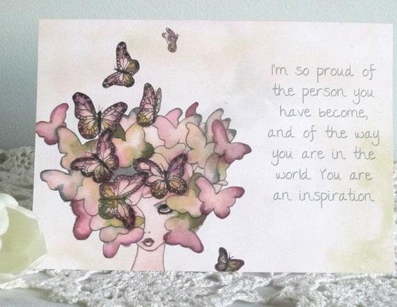 Illustrated Greetings Card - Inspiration