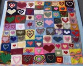 Hearts charts: A knitting chart pdf to make YOUR OWN.