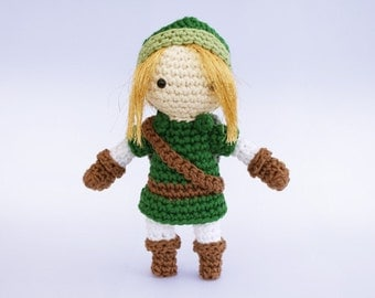 "Link -  Crochet Pattern (from ""The Legend of Zelda"")"