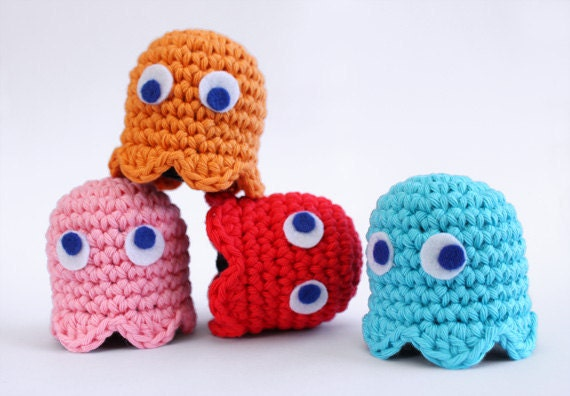 Pacman Ghost  - Adopt set of four