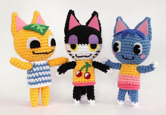 Animal Crossing Cat - Crochet Pattern