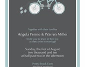 FOR KIM: Bicycle Wedding Package (Revision)
