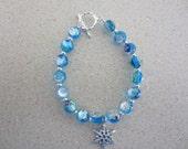 Child's snowflake bracelet