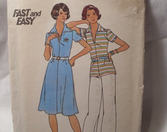 Vintage butterick sewing pattern 4226, size 16