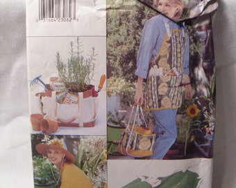 Vintage Butterick sewing pattern 4364, size: one size, apron