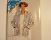 UNCUT See and Sew 5575  womens sewing formal pattern