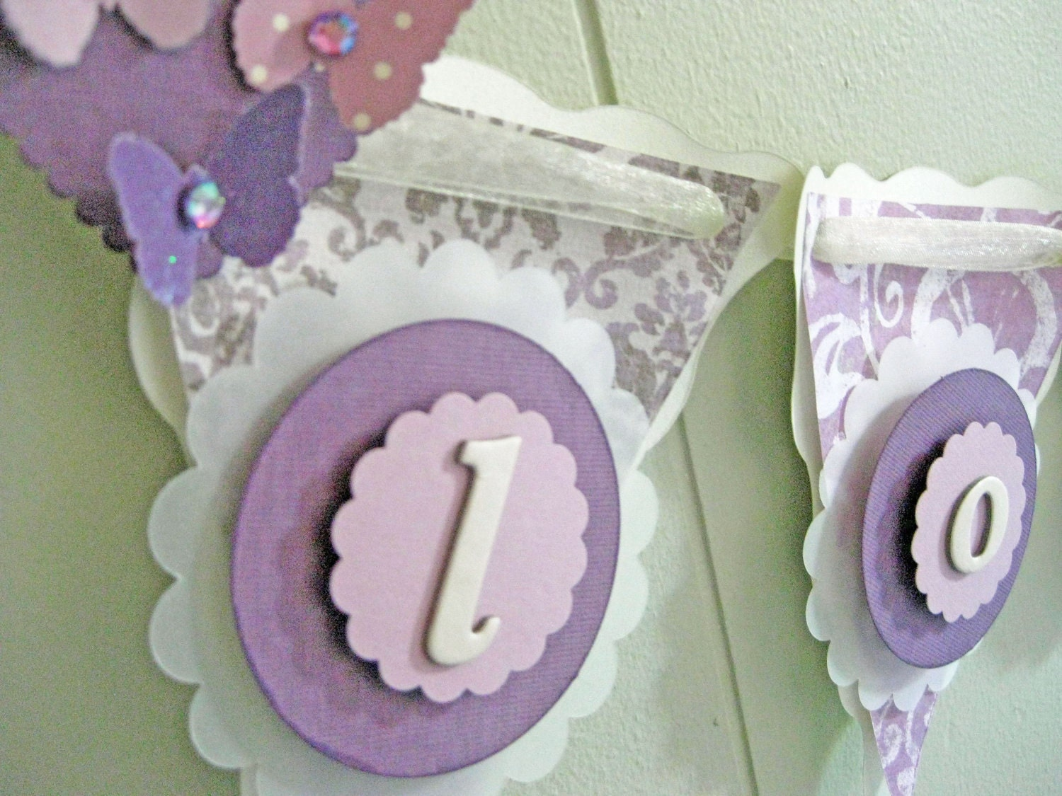 Chandeliers pendant lights - Butterfly themed baby shower favors ...
