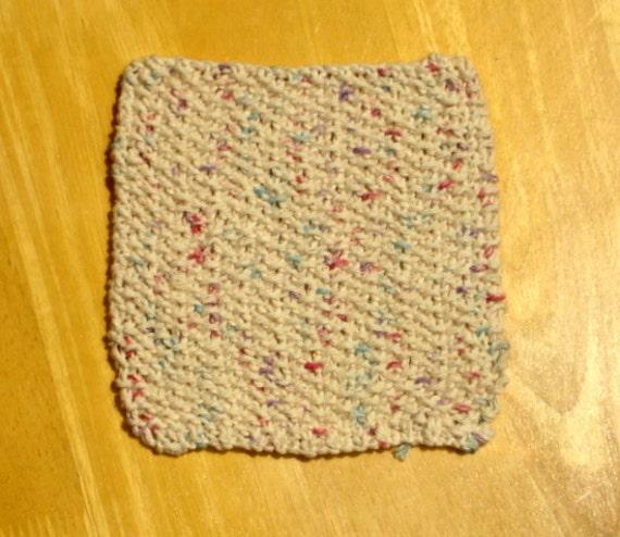 Citrus Fruit Knit Cotton Cloth (Beige, Green, Red)
