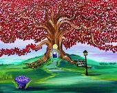 Autumn Art-Ruby Tree