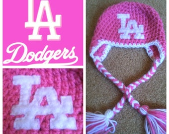 Crochet Girl Dodger Beanie