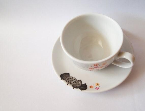 Spring Flowers - Tea Cup