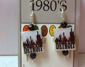 Detroit Skyline Earrings