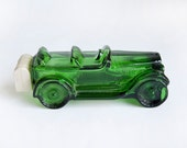 Avon Green Glass Car Tribute After Shave Maxwell '23 Vintage Cologne For Men