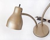 Industrial Metal Gooseneck Desk Lamp Lighting Gift for Men