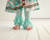 SALE Lace Ruffle Leg Warmers - 2 Colors to choose from - Photography Prop