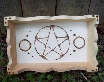 Custom Wood Burned Tray