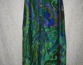 Reserved for Kikania GLAMOUROUS COLORFUL SKIRT - Hostess, Resort, Fun -