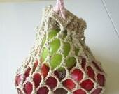 Custom Order for Julia: Organic cotton mesh produce bags