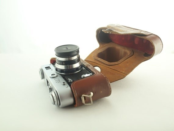 vintage camera FED 3 from Russia