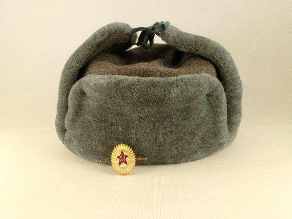 SALE - Vintage military winter Hat  from Russia