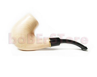 "Exclusive Style Tobacco Pipe/Pipes-Smoking Pipes-Wooden pipes. Hand Carved Smoking Pipe ""BENT BRIGHT"" Tobacciana pipe Best Price in FPS"