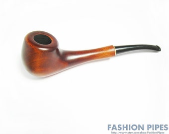 Lady  Wooden Tobacco Smoking PIPE. Hand Carved LADY Exclusive