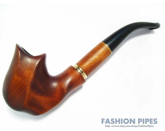 "Exclusive Pipe ""NEW DALI"" Tobacco pipe, Smoking pipe, Wooden pipe/pipes Carving Handmade. Wood pipe/pipes for pipe smokers. Best Price Offer"