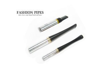 "Metal Cigarette Holders. Cigarette Holder 3.5""/90 mm (slims) & 3.9''/100 mm, 2.6'' /65 mm (regular cigarettes), Handmade Fashion Holders Set"