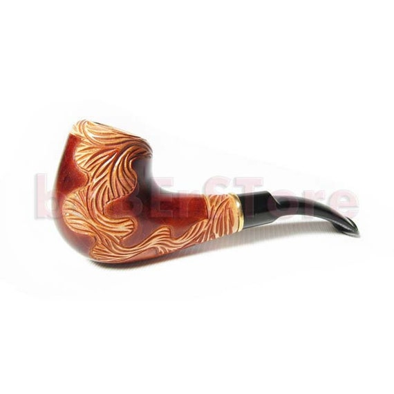 """Exclusive Style pipe,Tobacco Pipe/Pipes-Smoking Pipe-Wood/Wooden Pipes Hand Carved  """"LIANA"""" .....BEST OFFER..... Tobacciana pipe"""