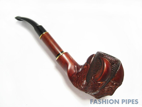 "Wow, UNIQUE Long Wooden pipe-Tobacco Pipe-Smoking Pipe/pipes. Handcrafted "" EAGLE CLAW"" Rare Wood Pipe. Great Gift for Pipe Smokers"