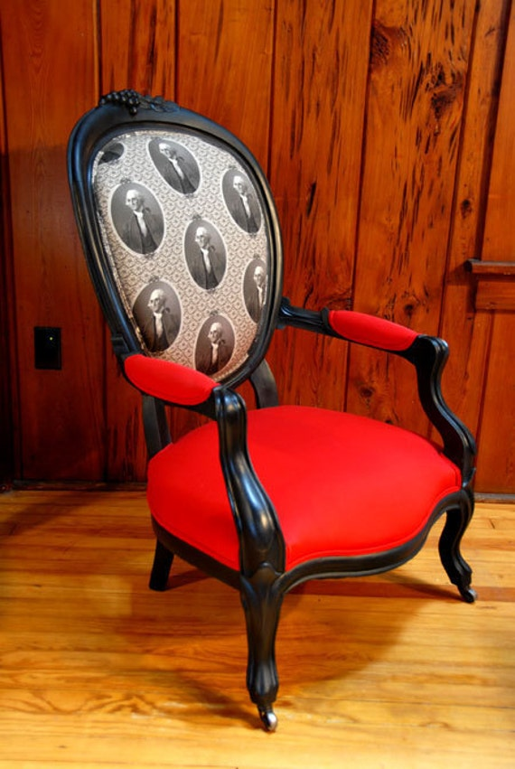Items Similar To Antique Louis Style Parlor Chair Accent